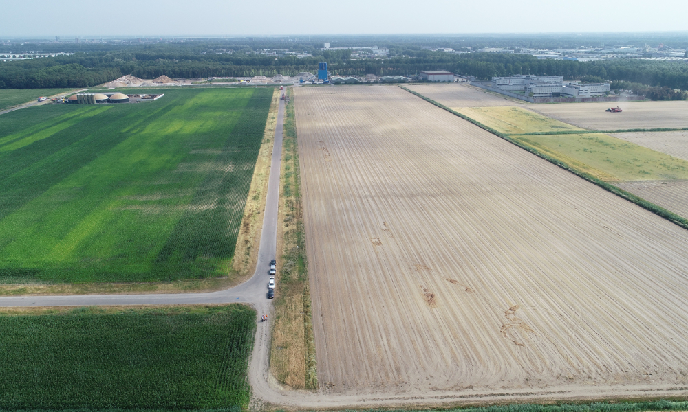 The EPC noted that the Almere solar park would be situated on soil that requires high ramming depth for the mounting system. Image PFALZSOLAR