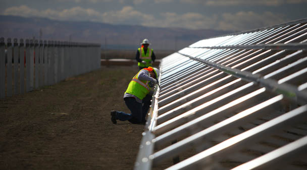 Renewable-energy developers involved in the constuction for the eight projects include 8minutenergy Renewables, AES Distributed Energy and Recurrent Energy. Image: PG&E