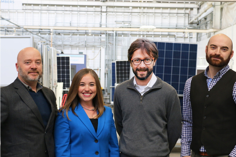 Having acquired PV Evolution Labs (PVEL) in early 2014, DNV GL has become a separate legal entity again under the ownership of PVEL's former founder, Jenya Meydbray (Middle right). Image: DNV GL