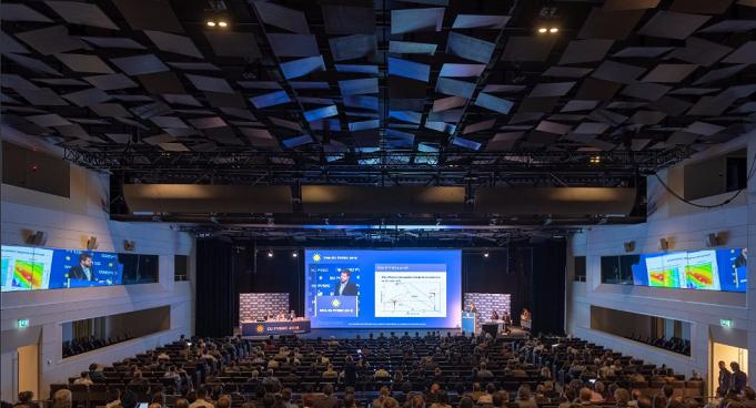 The opening day of EU PVSEC 2018. credit: EU PVSEC Twitter