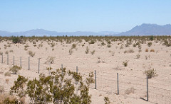 EDF secured consent to develop the solar project on the land (pictured) in California last year. Image: EDF.