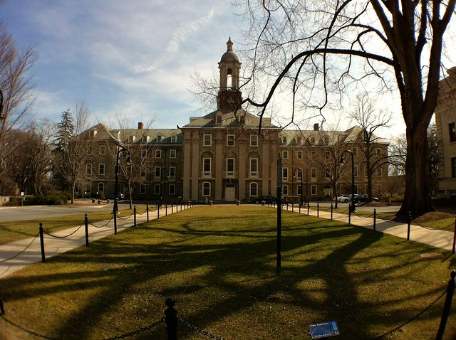 The Old Main building at Penn State University. Source: Cole Complese, Flickr