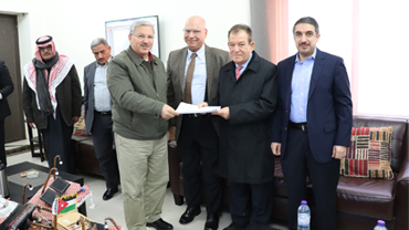 A ceremony was held on 18 February to celebrate the commercial operation date of the Al Badiya plant in Jordan. Image: Philadelphia Solar.