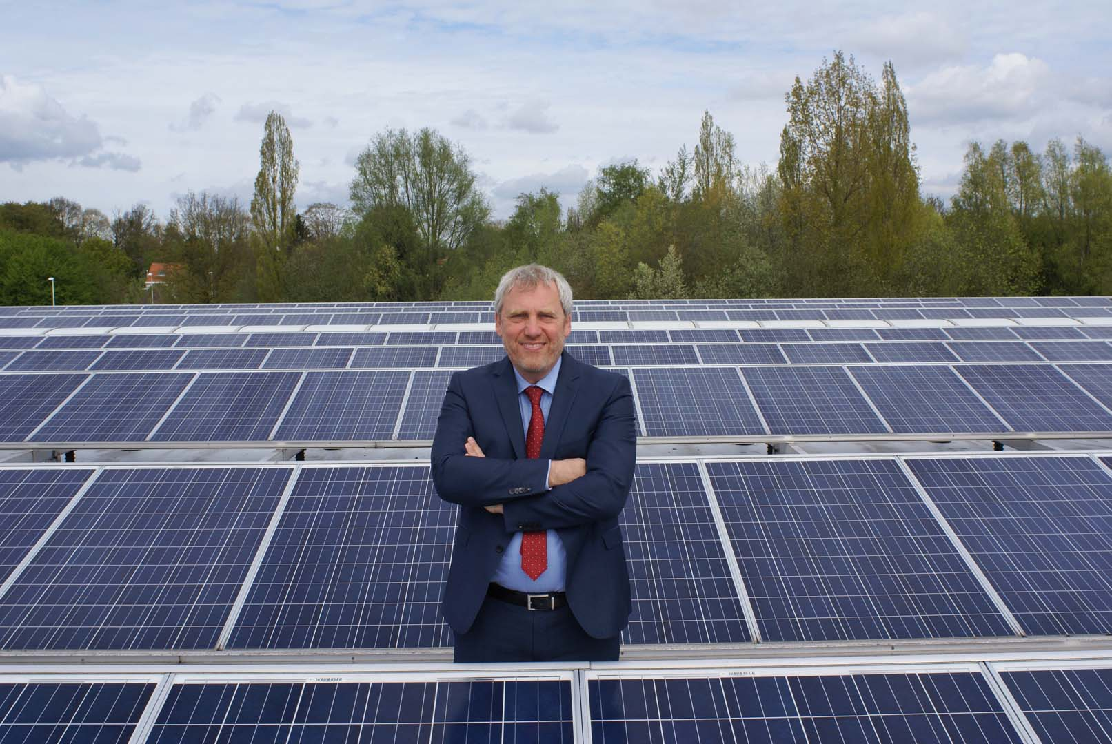 Graré is leaving the Munich-based organisation after almost six years to focus on two new companies he started up in the last three months. Source: QWAY Energy