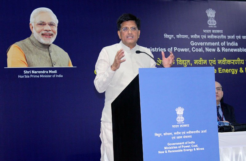 Union minister for power, coal, new & renewable energy and mines, Piyush Goyal.