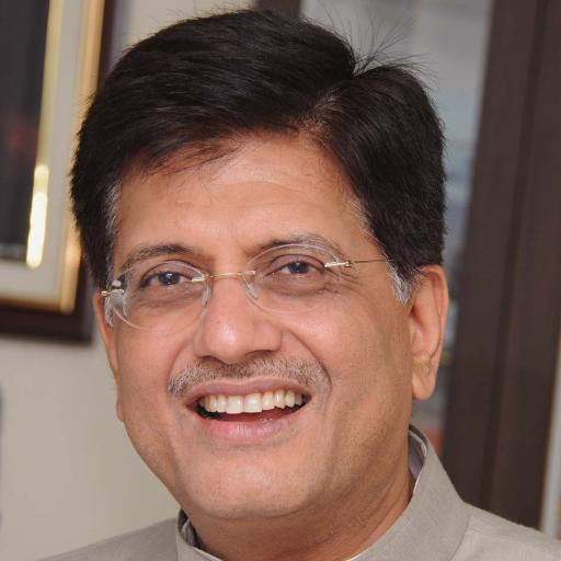 Goyal has urged for more and more people to seriously consider looking at domestic manufacturing of solar. Credit: Twitter