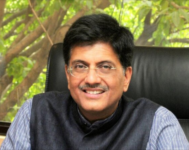 Goyal has overseen the power and renewables sector for most of Narendra Modi's term as prime minister. Credit: Twitter - Piyush Goyal