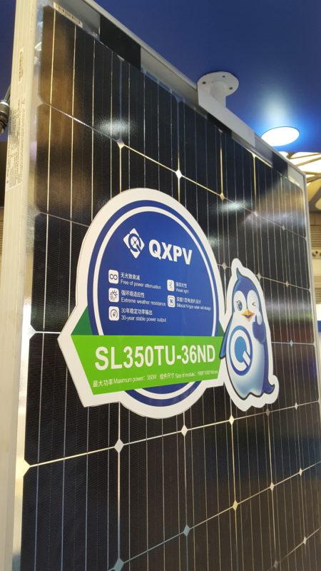 QXPV (NINGBO QIXIN SOLAR ELECTRICAL APPLIANCE CO., LTD has a selection of bifacial modules.