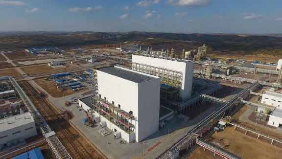Full capacity utilization is expected during the second half of 2018, making it the first FBR plant to operate in China. Image: REC Silicon