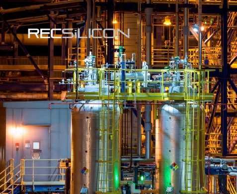 Moses Lake FBR facility operating at only 25% utilisation rates. Image: REC Silicon