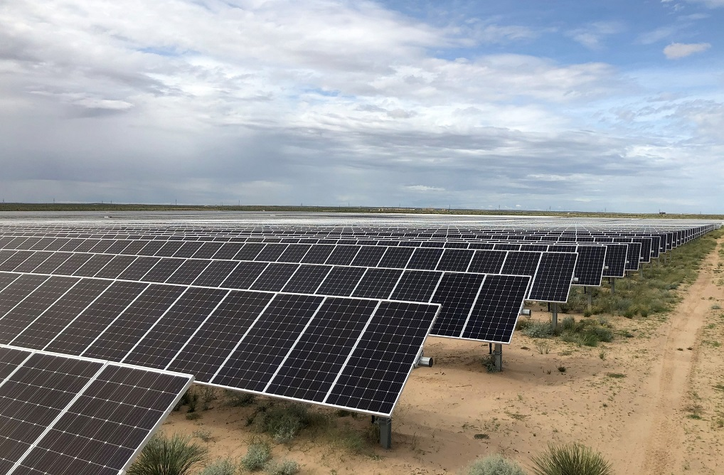 RWE Renewables earlier this year completed its largest US solar project, the 100MW West of the Pecos facility in Texas. Image: RWE Renewables.