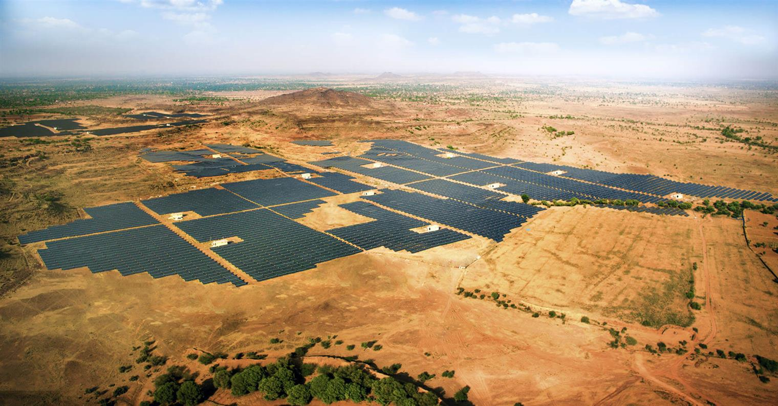 Azure Power said the new wins include a 100MW utility scale project at the Pavagada solar park in Karnataka and 30MW of solar rooftop project with Indian Railways. Image: Azure Power