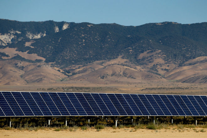 The Great Valley Solar project, previously called Tranquillity 8, is currently under construction in Fresno Country, California. Credit: Recurrent