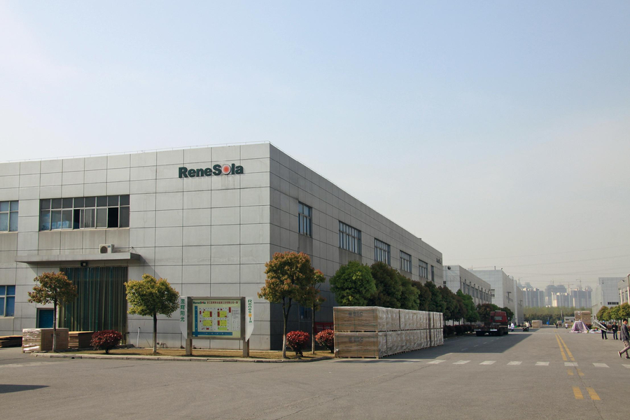 The firm will hit more than 1GW of module supplies to India during 2016/17. Credit: ReneSola