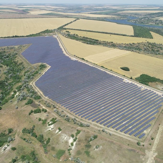 The 47MW Rengy solar project in Ukraine. Source: Scatec