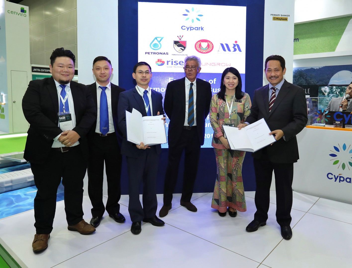Malaysia's Minister of Energy, Science, Technology, Environment and Climate Change Yb Yeo Bee Yin attended the agreement signing ceremony. Image: Risen Energy