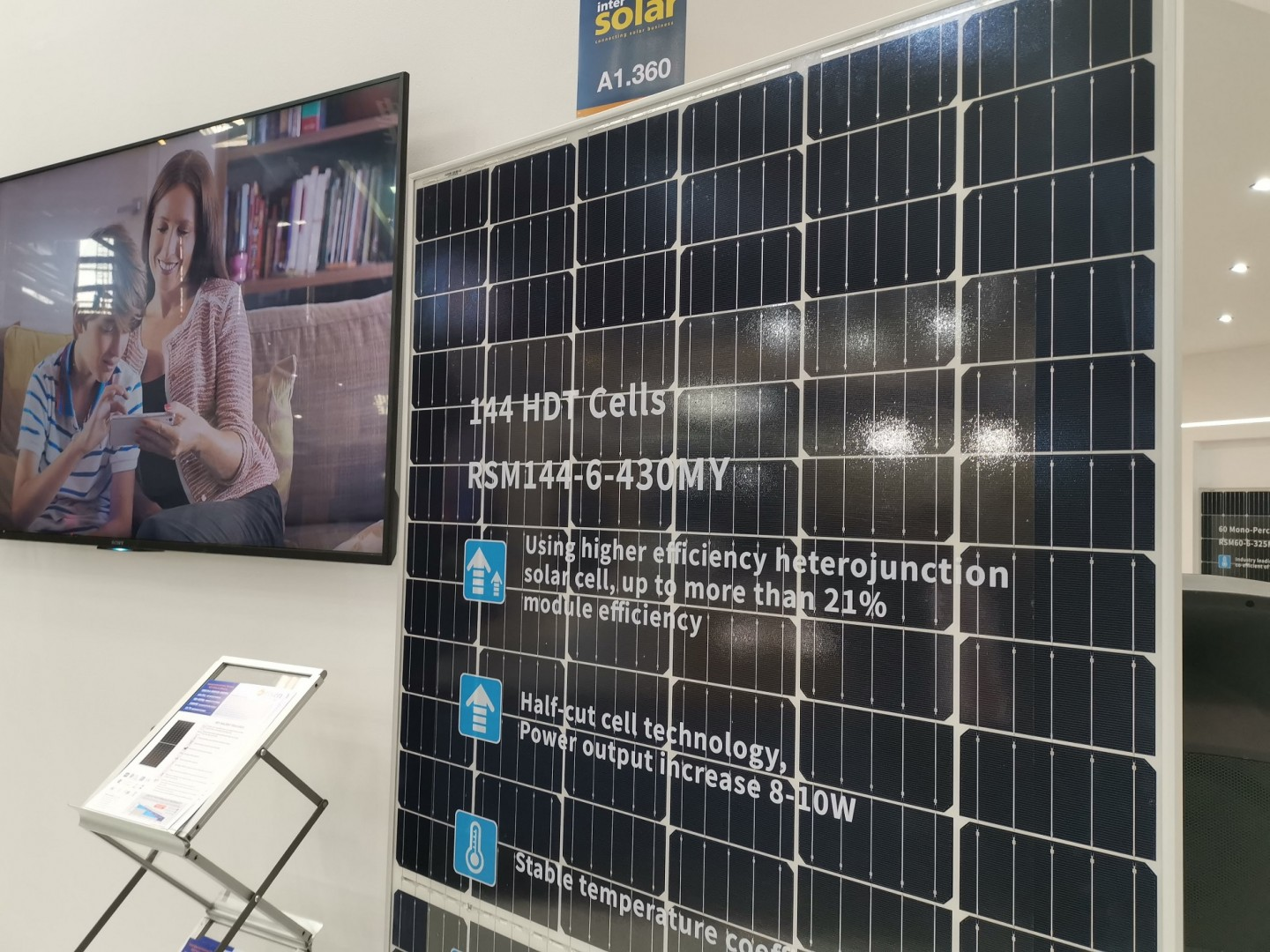 The new HDT module was unveiled at Intersolar Europe on Wednesday.