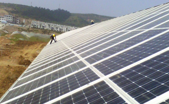 Mytrah Energy ordered 175MW of PV Modules from Risen Energy. Credit: Risen