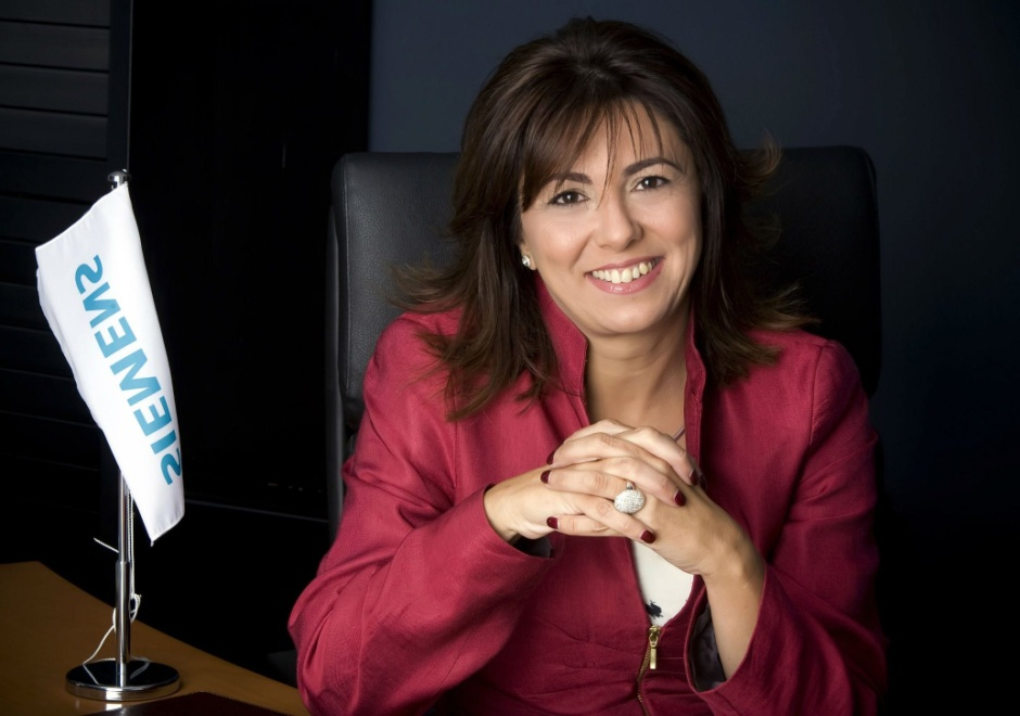 Rosa Garcia, new chairwoman of Siemens Gamesa Renewable Energy. Source: Siemens Wind Power