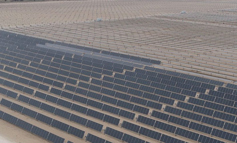 The site, which will boast an average annual power generation expected to be sufficient enough to power more than 50,000 Texan households, is tabbed by Innergex as the largest solar farm currently in operation in Texas. Image: Innergex