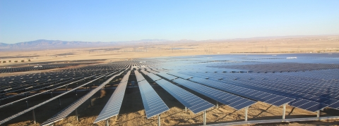 The two PV projects have a combined generation capacity of 60MW and are located in Lancaster, California. Image: sPower