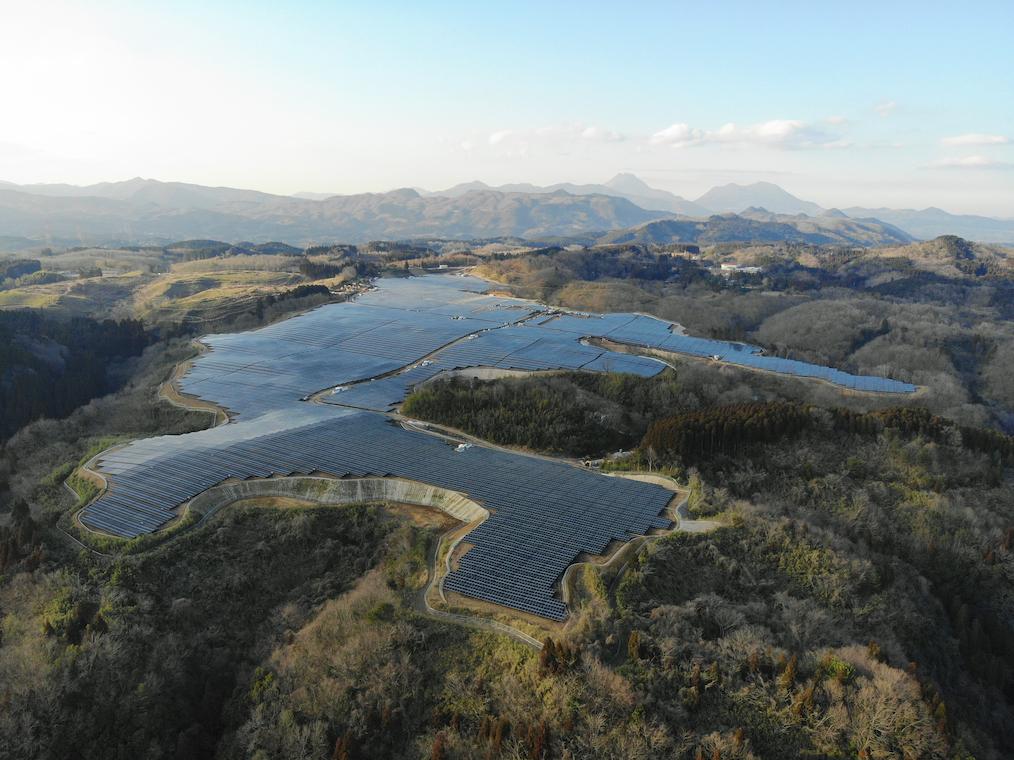 Sonnedix Japan brought the PV plant in Oita, Japan, online on 16 March. Image: Sonnedix Japan.