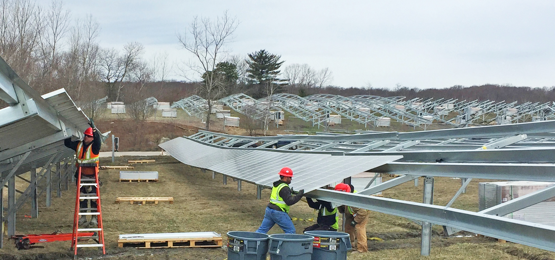 Over the past four years, Conti Solar has not recorded a single injury to an employee. Image: Conti Solar