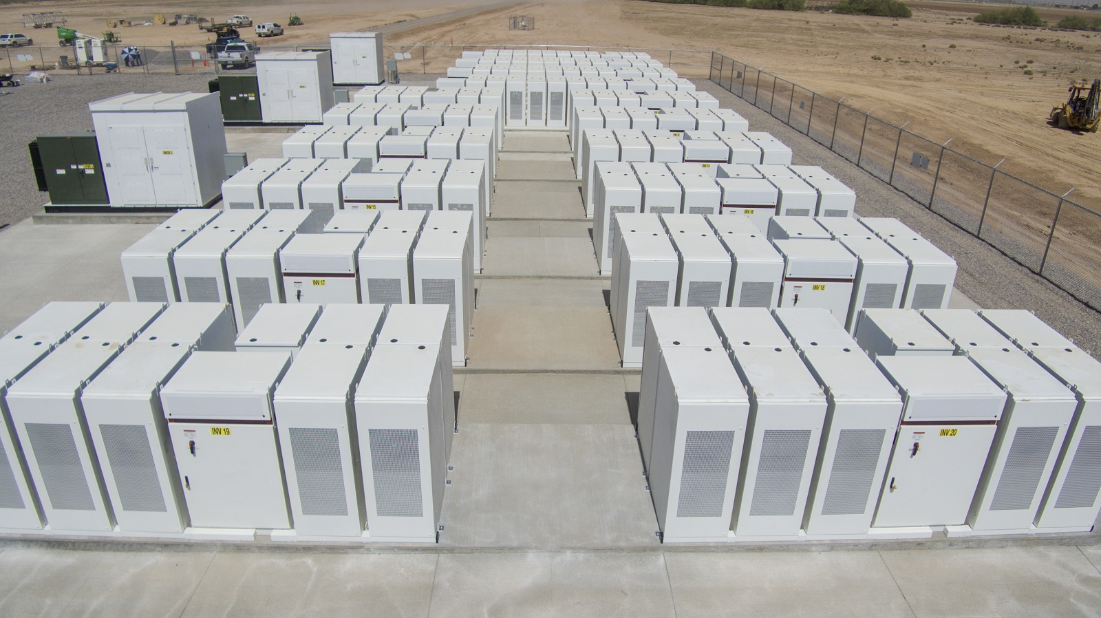 The Salt River energy storage facility in Arizona, owned by NextEra Energy. Image: NextEra Energy.