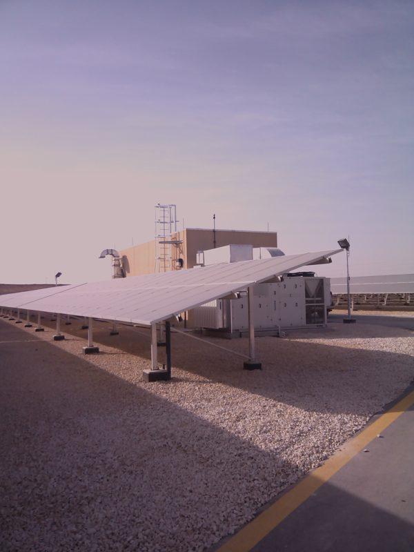 A Suntech installation in Saudi Arabia. Credit: Suntech