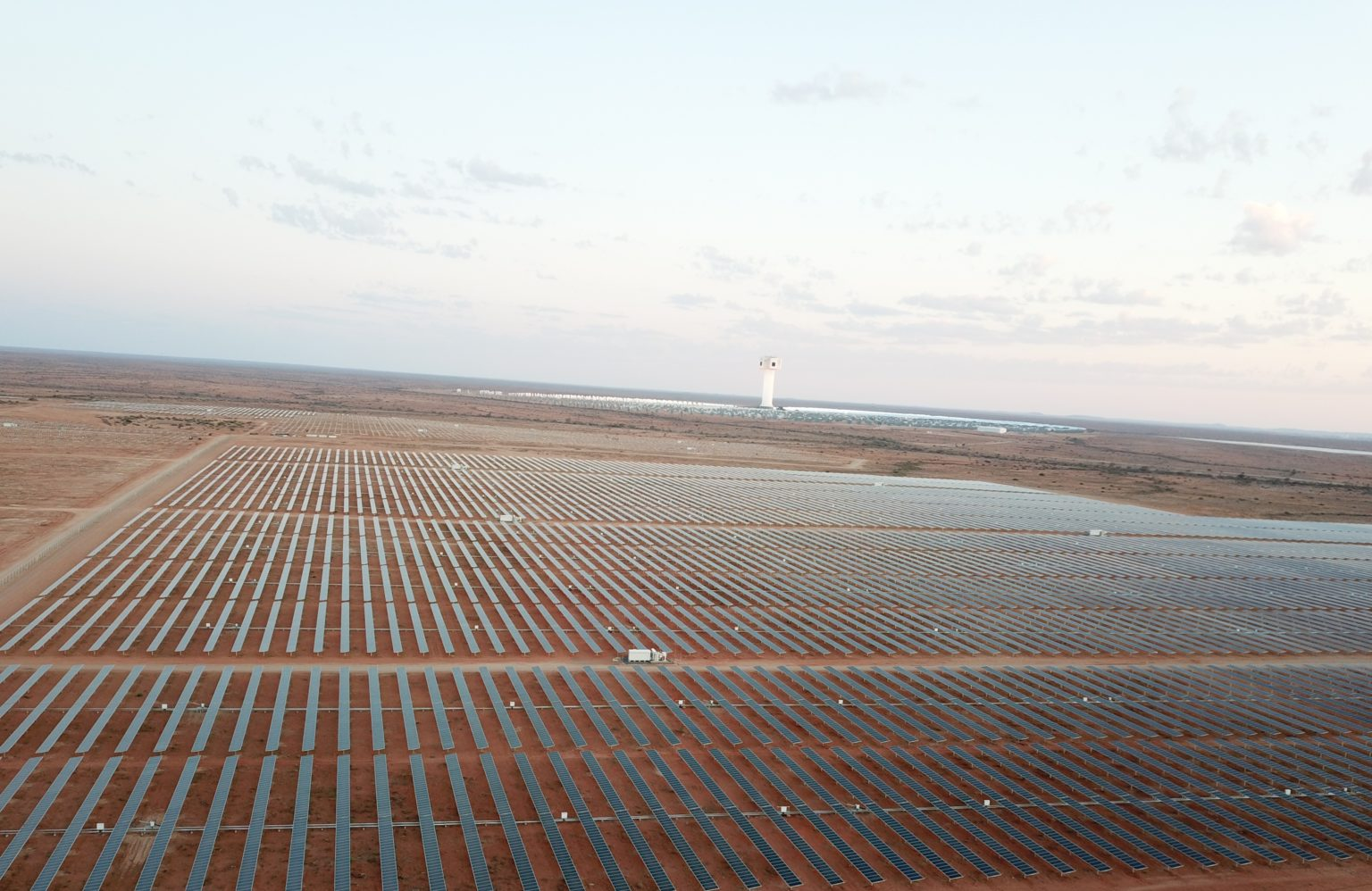 The first phase of the project, known as Sirius, is expected to generate 217 GWh of renewable energy and cut down on more than 180,000 tonnes of CO2 emissions annually. Image: Scatec Solar