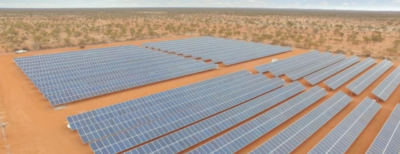 The 10MW project is expected to be completed by the end of 2017. Image: Carnegie Clean Energy