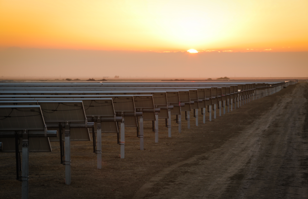 Sempra Renewables built and operates the Great Valley Solar Project — which was developed over 647 hectares of land and is comprised of 860,000 PV modules.