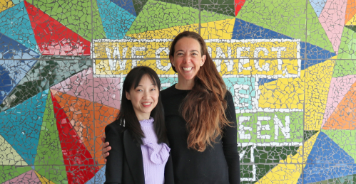 Carlota Pi, co-founder and executive president of Holaluz, and Luz Ma Chen, general director of Chint Energy. Credit: Holaluz