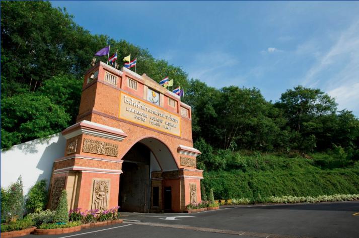 Thailand's only underground power plant, the Lamtakong Jolabha Vadhana Power Plant. Credit: EGAT