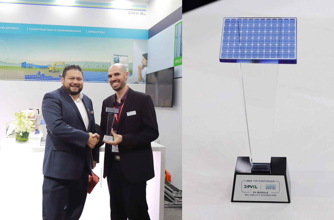 Seraphim's high-voltage (1500V) monocrystalline PERC (Passivated Emitter Rear Cell) module series SRP-xxx-6MB-HV (60-cell) and the SRP-xxx-6MA-HV (72-cell) were recognised at Top Performers in the PID test. Image: Seraphim Solar