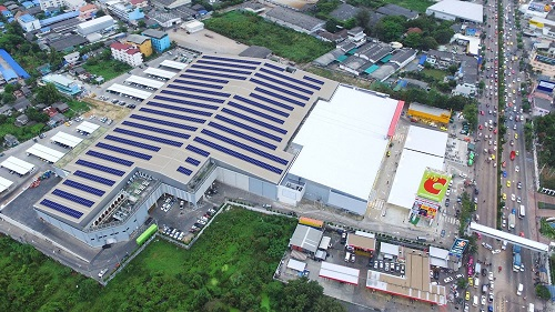 The 16 rooftop solar projects are expected to commence operations between December 2017 and March 2019. Image: Sharp