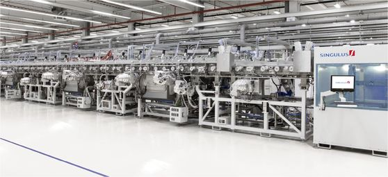 Crystalline solar cell manufacturers also investing in heterojunction technology, according to VDMA. Image: Singulus Technologies