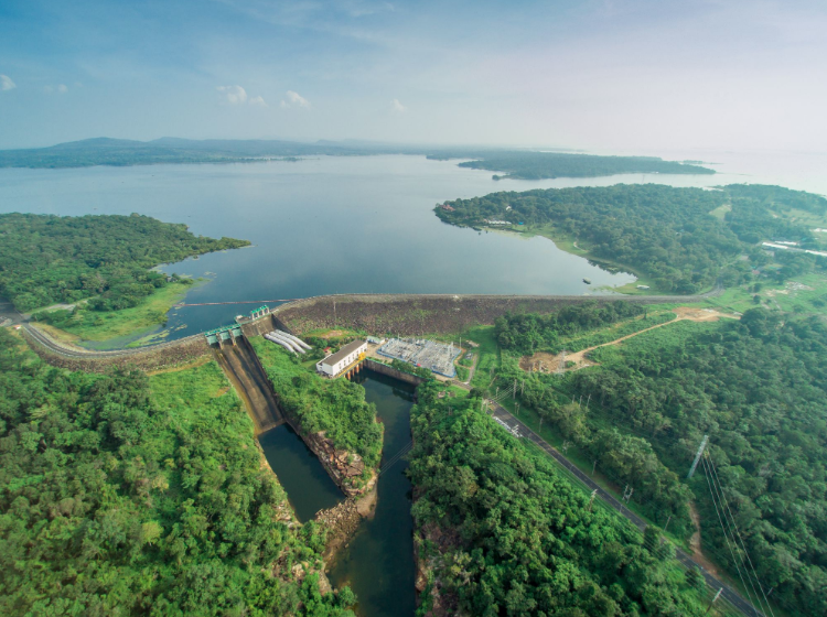 The Sirindhorn Dam will hold EGAT's pilot floating PV project before further projects across the Thailand's other dams. Credit: EGAT