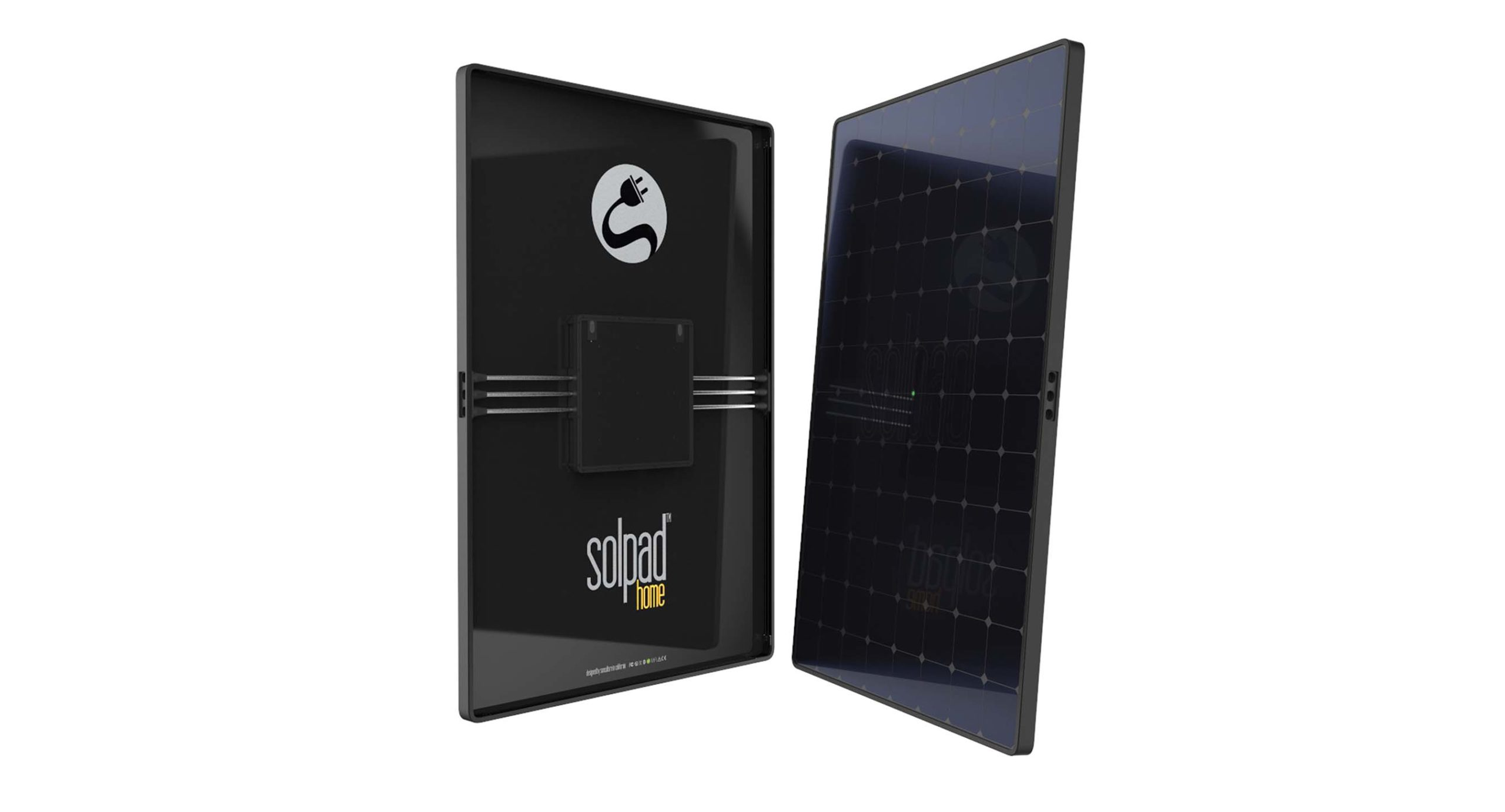 SolPad Home panels store both solar and grid energy with solid-state battery technology. Image: SunCulture Solar