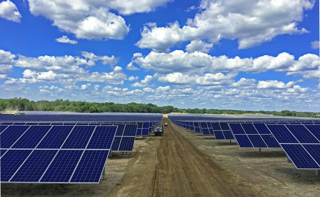 The Tobacco Valley solar project, located in Simsbury, Connecticut, will be installed with Solar FlexRack's Series G3-X fixed tilt solution. Image: SolarFlexRack