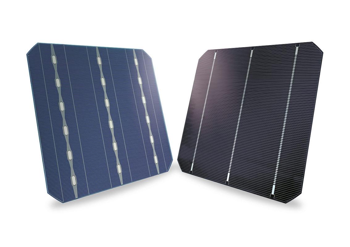 SolarWorld's Bisun cells used in bifacial modules. Image: SolarWorld.