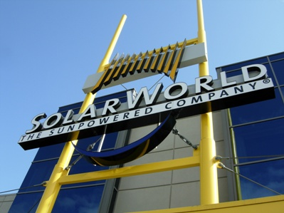SolarWorld's shipments and earnings have rallied in 2015, despite delays to factory upgrades. Image: SolarWorld