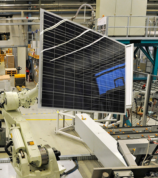 Total product shipments were the highest reported by SolarWorld in several years. Image: SolarWorld