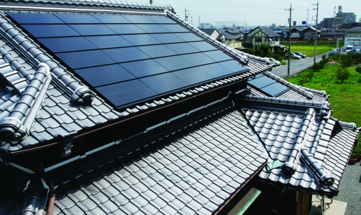 Commentators expect new 'Zero Energy' standards for buildings to be introduced in 2020 will boost the Japanese residential solar PV market. Image: Solar Frontier.
