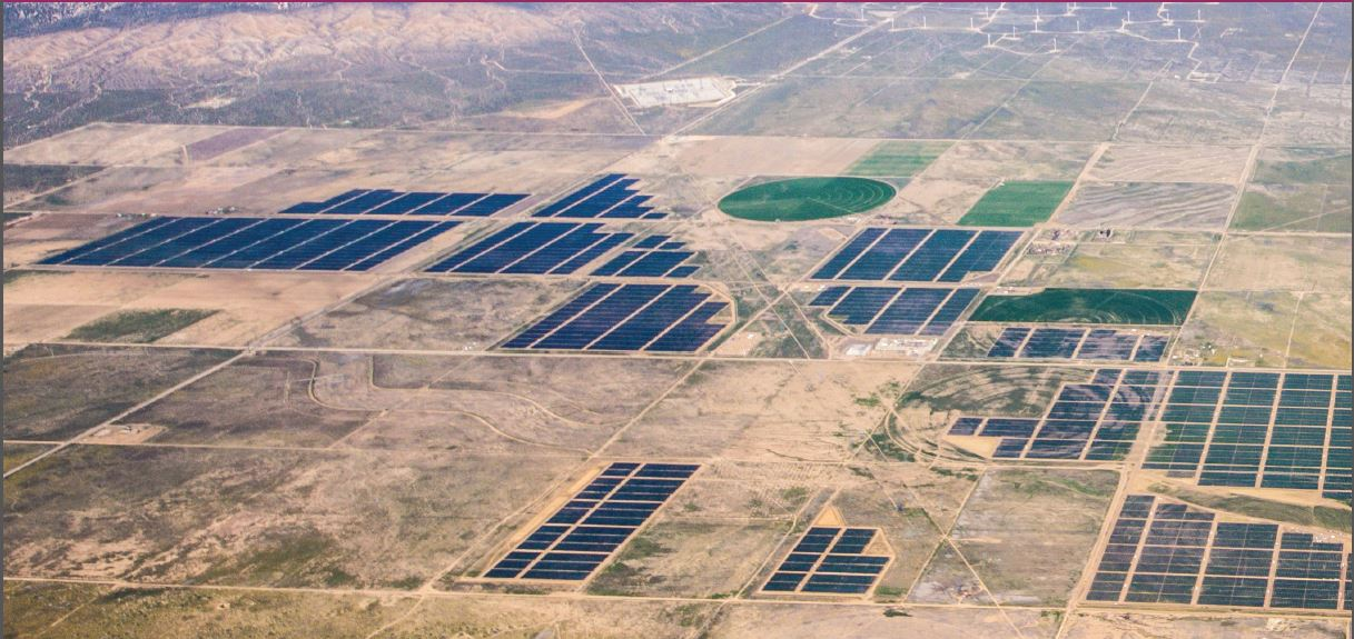 The completion of the 579MW Solar Star project in the US was one of the higlights of 2015. Image: SunPower.