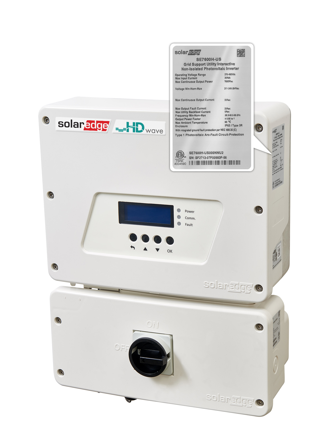 SolarEdge noted that its US range of inverters would be labelled for compliance as a 'Grid Support Utility Interactive Inverter and would provide smart inverter features to PV system owners and utilities. Image: SolarEdge Technologies