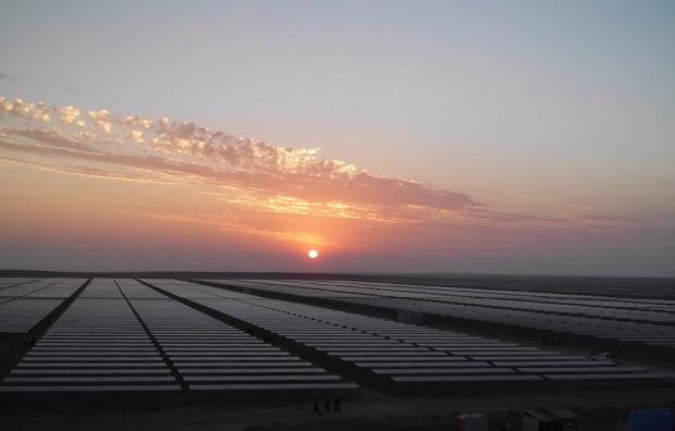 The consortium was selected to build 100MW solar in Telangana. Credit: Solarpack