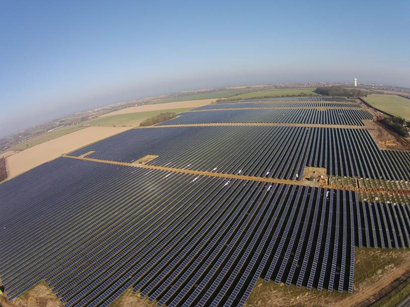 The UK installed 3.5GW of Europe's 8GW of PV capacity in 2015, according to SolarPower Europe. Source: Primrose Solar.