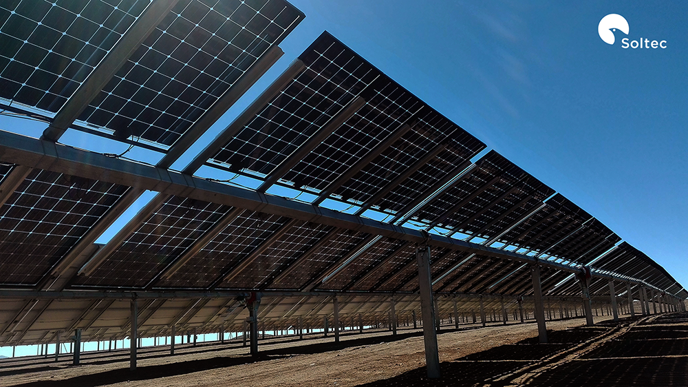 Single-axis solar tracker firm Soltec has secured a 2MW order for its SF7 bifacial tracker system (64 units) from EPC firm El-Mor Renewable Energies, believed to be the first utility-scale bifacial project in Israel. Image: Soltec