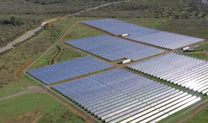 One of Sonnedix's existing solar farms in Chile. Image: Sonnedix.